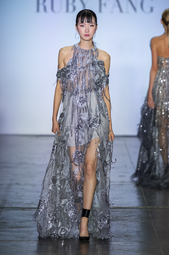 Ruby Fang NYFW 2018 Gowns Spring 2019 runway show