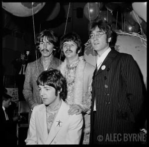 "The Beatles ""Our World"" Broadcast Press Call Jun. 1967 © Alec Byrne"