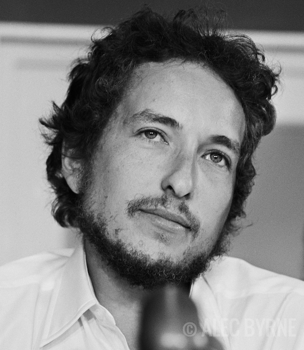 Bob Dylan Alec Byrne Photographer Ron Robinson Santa Monica