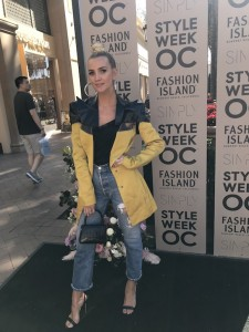 Ashlee Simpson Ross attended SIMPLY Style Week OC