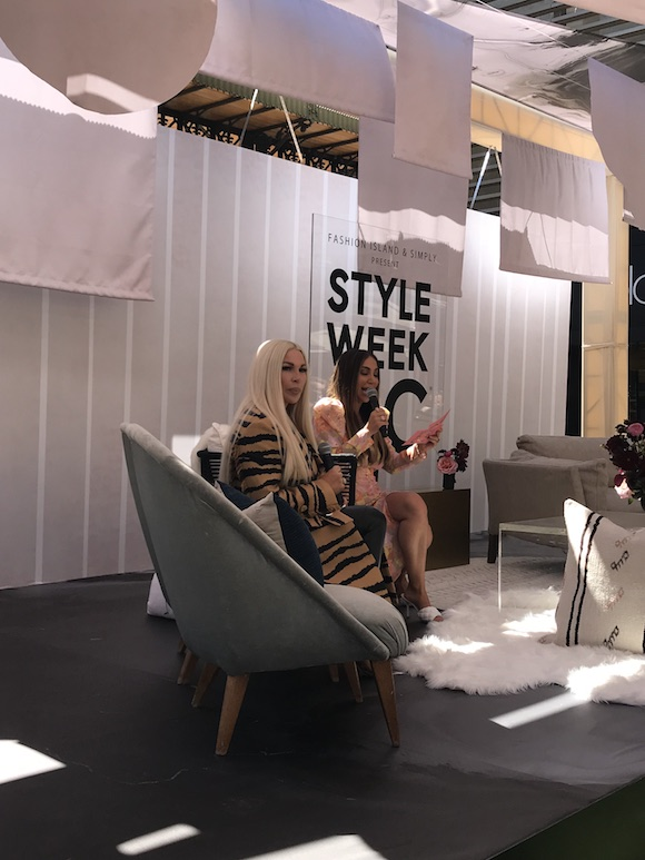 Diana Madison and Joyce Bonelli at Simply Style Week OC